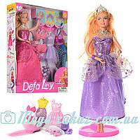 """Кукла с одеждой Defa Lucy """"Модница"""": 3 наряда, аксессуары в комплекте"""