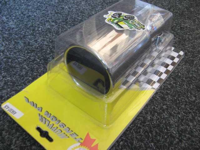 Насадка наконечник глушителя A-56307 нержавейка тюнинг на выхлопную трубу глушитель универсальная