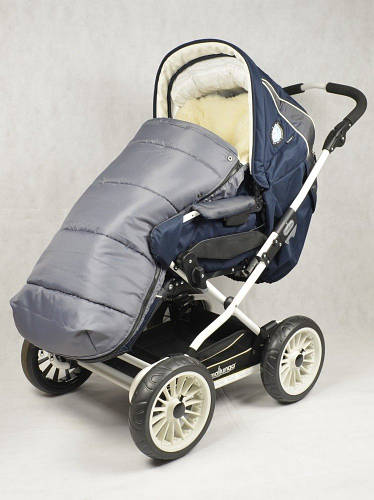 Конверт в коляску на овчине Drive, Kinder Comfort