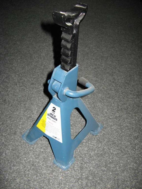 Стойка-поддомкратник 2 т. выс 288 мм - 425 мм 2шт