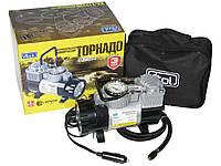 Автомобильный компрессор Торнадо КА-Т12220 150psi/14Amp/35 автомобильный насос для подкачки шин от прикуривателя
