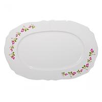 Блюдо белое с деколью 30см ST 83-30-01