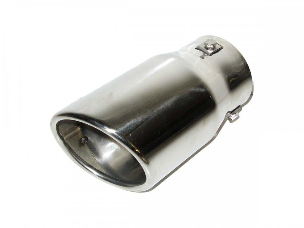 Насадка наконечник глушителя 0320 (45-70мм) нержавейка тюнинг на выхлопную трубу глушитель универсальная