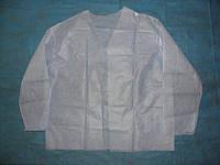 Куртка для прессотерапии одноразовая, спанбонд.