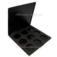 Пустой пан для теней 9 цветов Beauties Factory Empty Eyeshadow Case