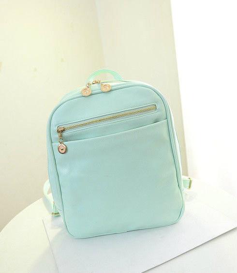 Маленький женский рюкзак из кожзама
