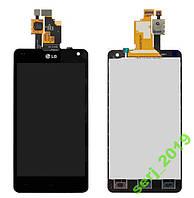Дисплей LG E975 Optimus G черный, с сенсором