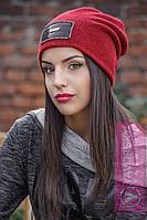 Женская шапка из двойной ангоры