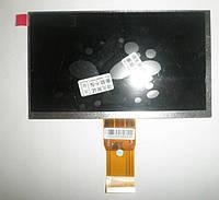 """Дисплей планшета E231732 ,50 pin, 7"""", 165*100 мм, 1024*600"""