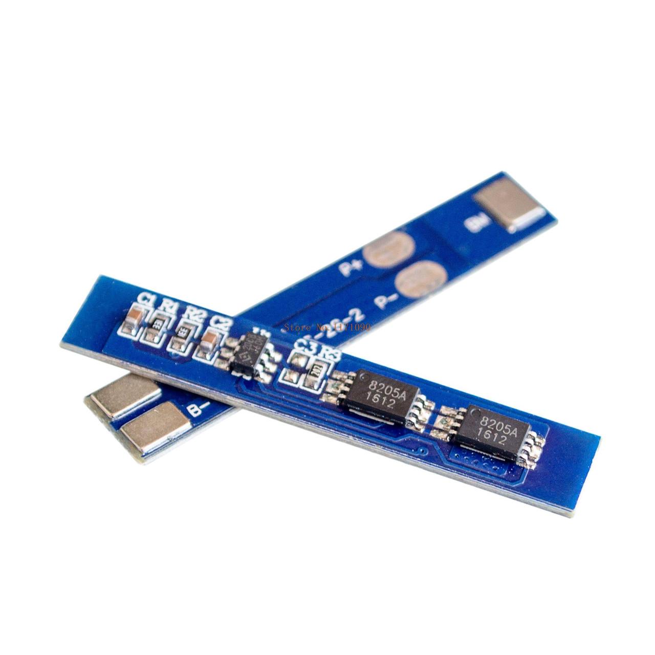 Контроллер заряда разряда 2х Li-Ion 18650 7.4В 3A