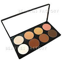 Тени для век 8 цветов Beauties Factory Eyeshadow Palette NEUTRAL NUDE