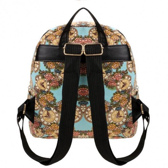 стильный маленький рюкзак часики