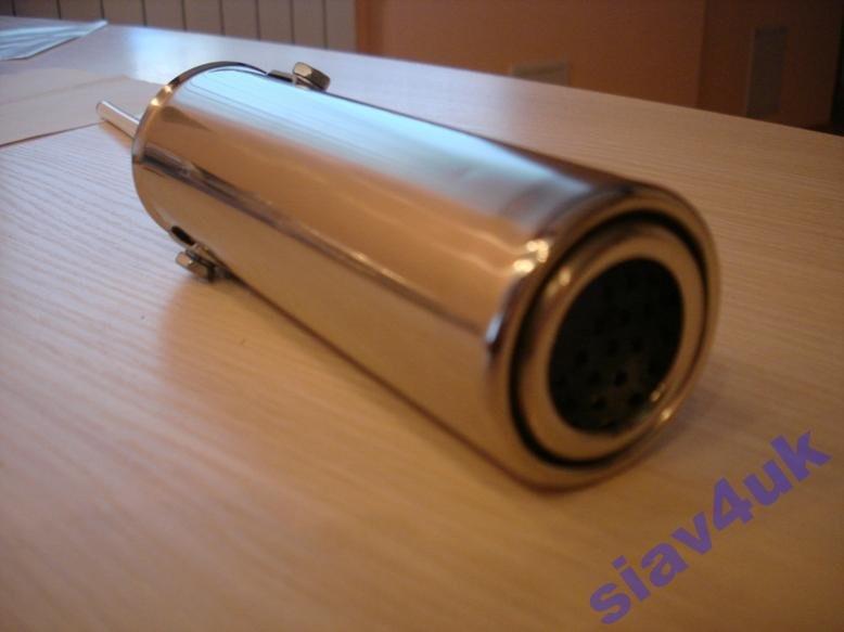 Насадка на глушитель нержавейка 0505 от 30-45 мм