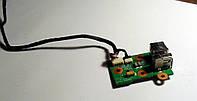 102 Разъем USB Gigabyte W566N W466U - DA0TW7TB8B0, фото 1