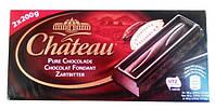 Шоколад Chateau Pure Chocolade, черный 400 г. Германия!