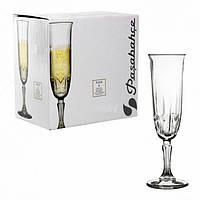 Набор 6 бокалов 163мл для шампанского Karat 440146