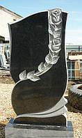 Памятник с розочками ПГ - 077