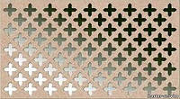 Декоративная  перфорированная панель Колумбия Бланк (под покраску) 1200х600х3,5 мм