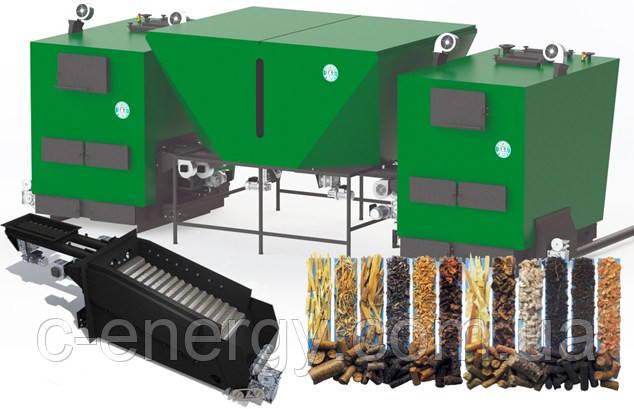 Автоматический пеллетный котел  Gefest-profi A 140 кВт.