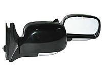 Боковые зеркала наружные заднего вида на для ВАЗ 2104, 2105, 2107 KL-2107L (Black) сферическое