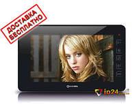 Видеодомофон QV-IDS4720 (black) 7-дюймовый сенсорный монитор