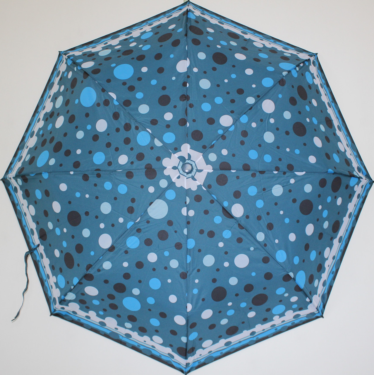 Женский зонт полуавтомат на 8 карбоновых спиц