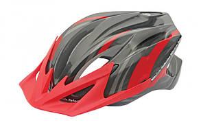 Шлем Spelli SBH-4000-L Черно-Красный