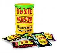 Токсик Вейст. Очень кислые конфеты. Toxic Waste. Желтые