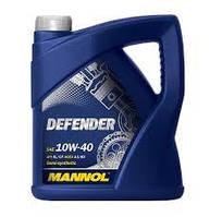 Масло моторное Mannol 10W-40 Defender полусинтетическое 5л