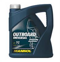 Масло моторное Mannol Outboard Universal минеральное 4л