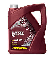 Масло моторное Mannol 5W-30 Diesel TDI синтетическое 5л