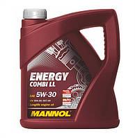 Масло моторное Mannol 5W-30 Energy Combi LL синтетическое 5л