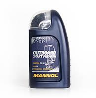 Масло моторное Mannol 7818 Outboard 2-takt Premium синтетическое 1л