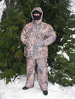Теплый костюм для рыбалки: t° -30°C, карманы, регулировка по росту, размеры 48-50, 52-54, 56-58, 60-62