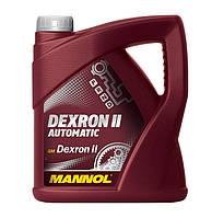 Масло трансмиссионное Mannol Dexron II минеральное 4л
