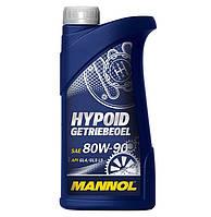 Масло трансмиссионное Mannol 80W-90 Hypoid Getriebeoel API GL-5 минеральное 1л