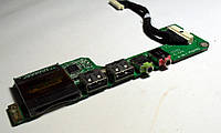 123 Дополнительная плата Acer Aspire One A150 ZG5 - DA0ZG5PB6E0 - USB аудио кардридер шлейф