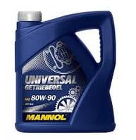 Масло трансмиссионное Mannol 80W-90 Universal Getriebeoel API GL-4 минеральное 4л