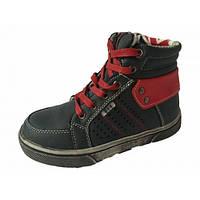 Ботинки для  мальчика Clibee F570 черный (32-37)