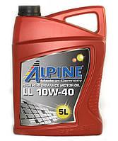Масло моторное Alpine LL 10W-40 минеральное 5л