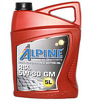 Масло моторное Alpine RSL 5W-30 GM синтетическое 5л