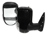 Боковые зеркала наружные заднего вида на для Газель 3296 А черное с поворотом