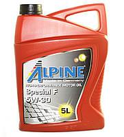 Масло моторное Alpine Special F 5W-30 синтетическое 5л