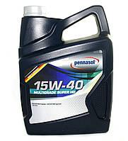 Масло моторное Pennasol 15W-40 Multigrade Super HD минеральное 5л
