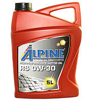 Масло моторное Alpine RS 0W-30 синтетическое 5л