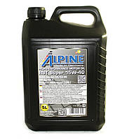 Масло моторное Alpine RST Super 15W-40 минеральное 5л