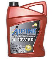 Масло моторное Alpine TS 10W-60 полусинтетическое 5л