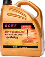 Масло моторное ROWE HIGHTEC SUPER LEICHTLAUF 10W-40 полусинтетическое 5л