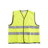 Светоотражающая жилетка безопасности разм L, желт