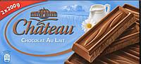 Шоколад Château Melkchocolade, молочный 400 г. Германия!